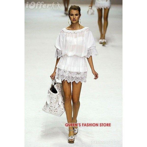 Dolce e gabbana white dress ebay