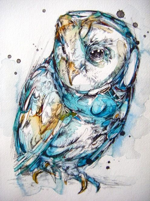 The Sea Glass Owl on the Behance Network