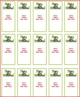 Grinch mini candy bar wrappers