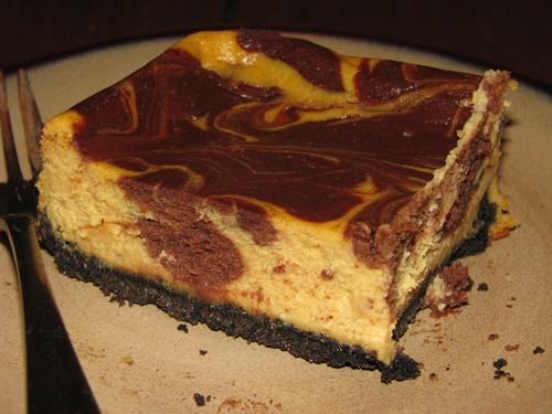 Chocolate-Pumpkin Cheesecake Barws | Brownies & Bars | Pinterest