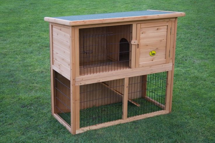 Pin by kerri midkiff on hailey pinterest for Rabbit hutch designs