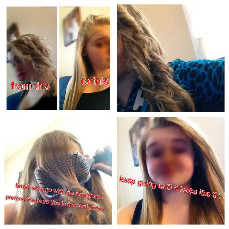 How To Straighten Your Hair Properly