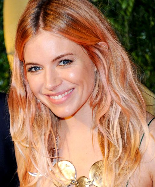 What the Cool Kids Are Wearing: Hair Color Edition Rose Gold
