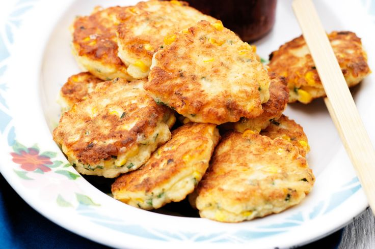 Crab and corn cakes | Fish and Seafood | Pinterest