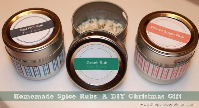 Homemade Spice Rubs Greek Rub, Brown Sugar Rub & Red Chili Rub
