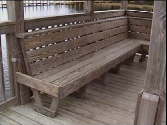 Dock Bench A Dock Bench Firepit Seating Pinterest