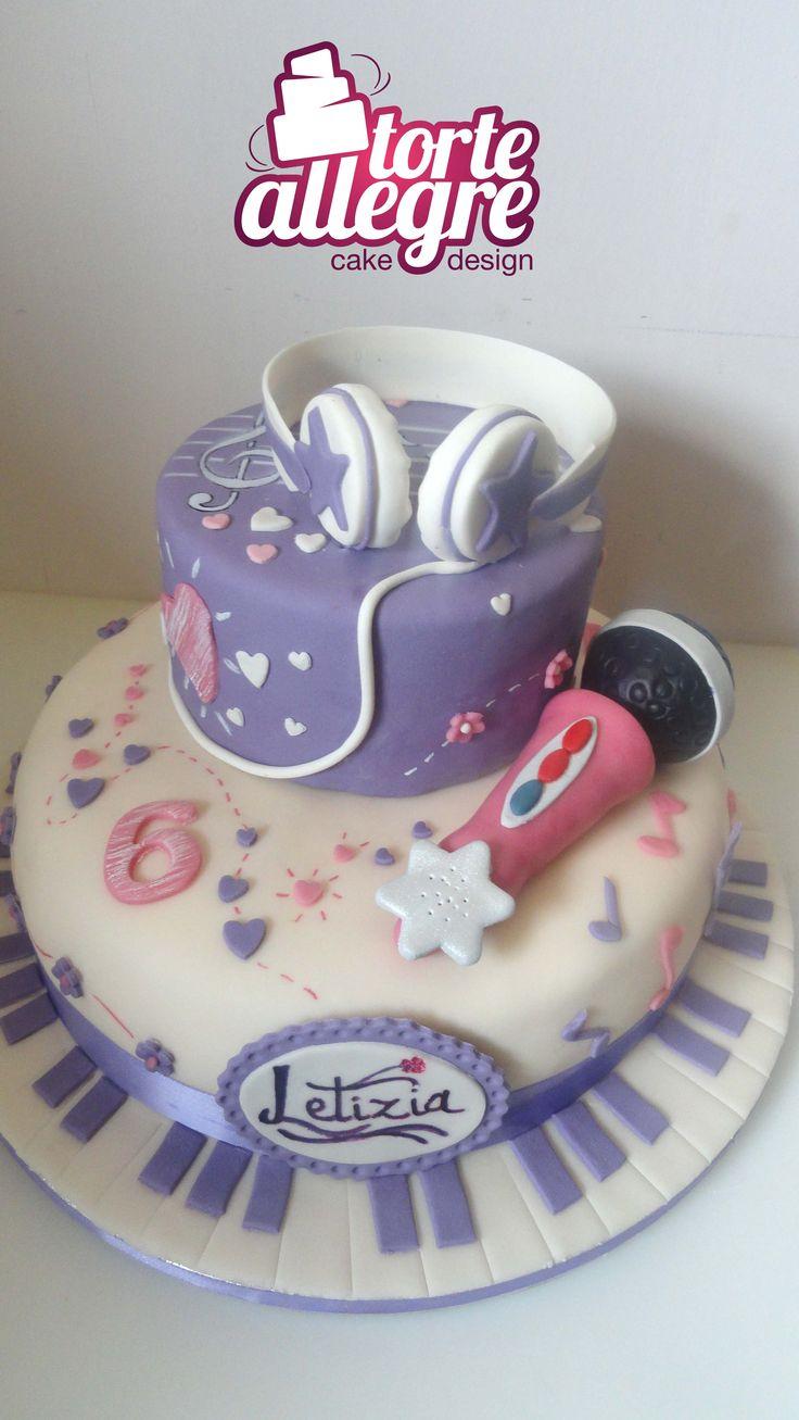 Torta Cake Design Violetta : Pinterest: Discover and save creative ideas