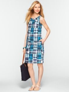 Madras Plaid Dress