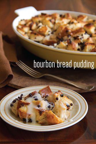 Bourbon Bread Pudding | Recipe