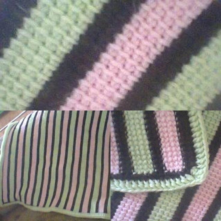 Tunisian Crochet : Tunisian crochet Crochet Patterns - Babies Pinterest