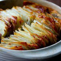 Layered potato bake | Potatoes | Pinterest