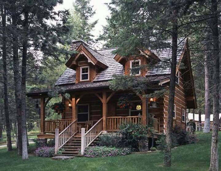 Absolutely Beautiful Log Cabin Our Home Down A