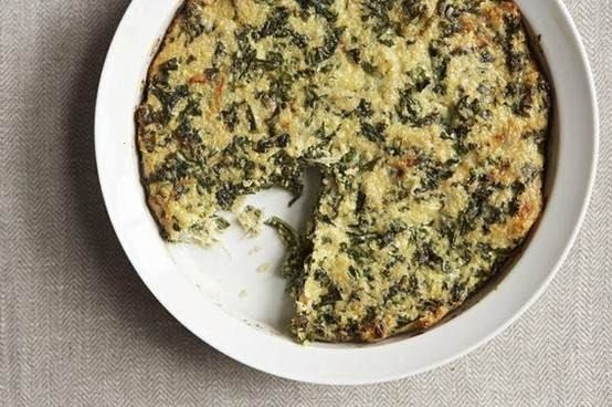 quinoa and kale crustless quiche | Recipes to Try | Pinterest