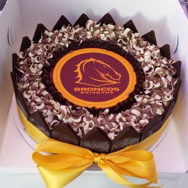 Pin Brisbane Broncos Edible Cake Topper Nrl Merchandise ...