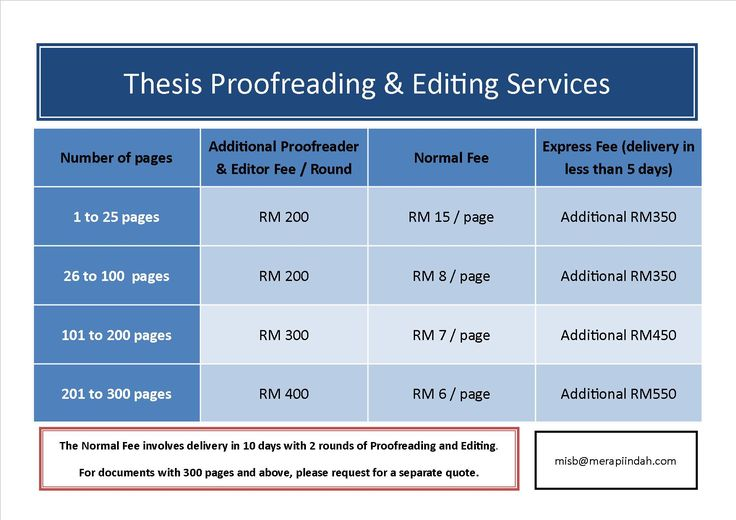 dissertation editing fees Home dissertation editing pricing dissertation editing pricing giving a general quote for all types of academic editing work is not possible dissertations differ too much for that.