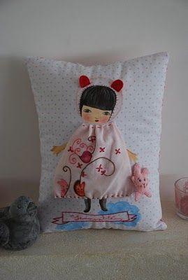 супер мило подушку!