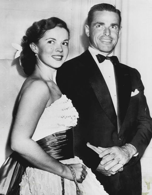shirley temple and charles black happy shirley temple