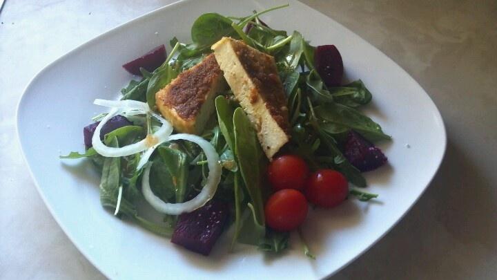 Seasoned Tofu Salad | Food | Pinterest