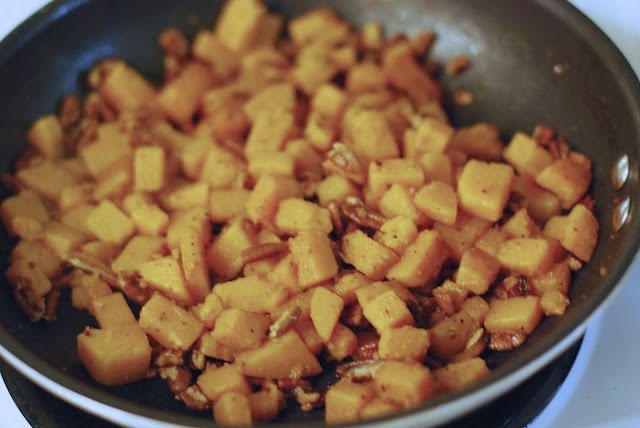 Pasta with Butternut Squash and Pecans | tracey cooks | Pinterest