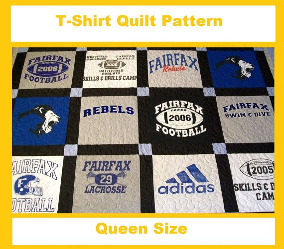 Pinterest discover and save creative ideas for How to make t shirt quilts easy