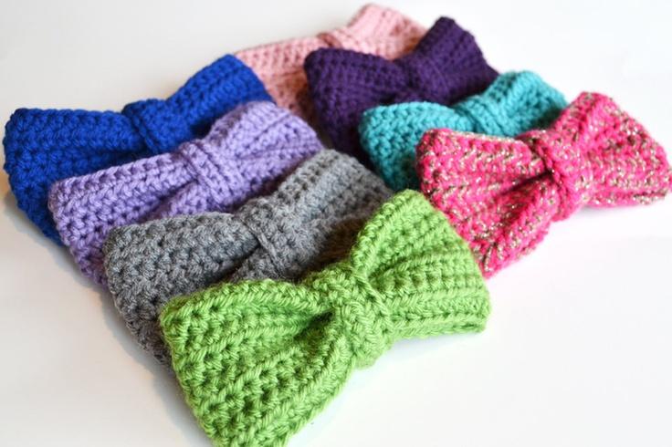 Crochet Bow : Crochet Bow Harper Kate Pinterest
