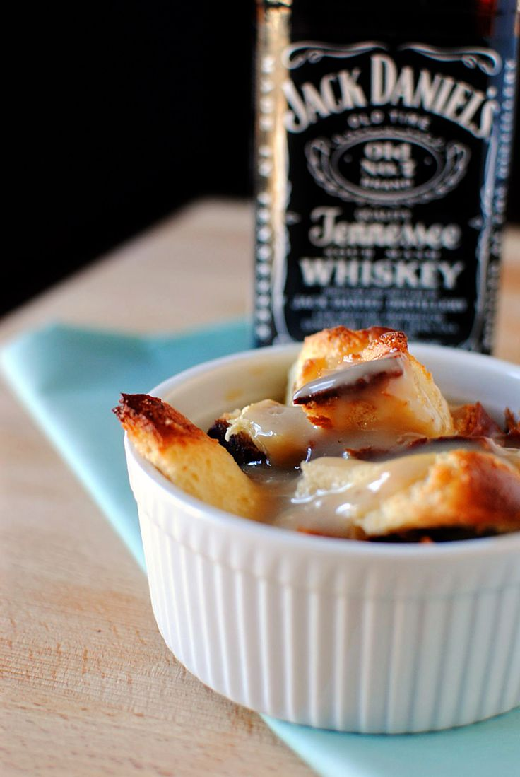 Creole Bread Pudding with Bourbon Whiskey Sauce