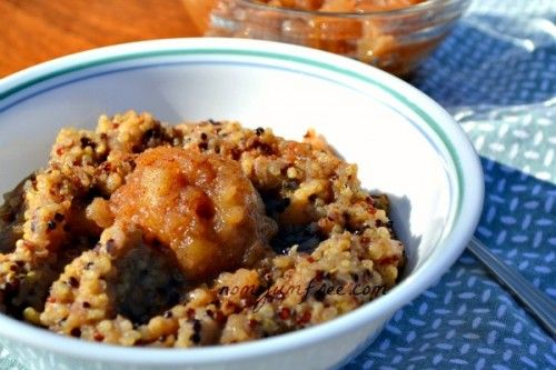 Hearty Apple Cinnamon Breakfast Quinoa | Cooking and eating: two of m ...