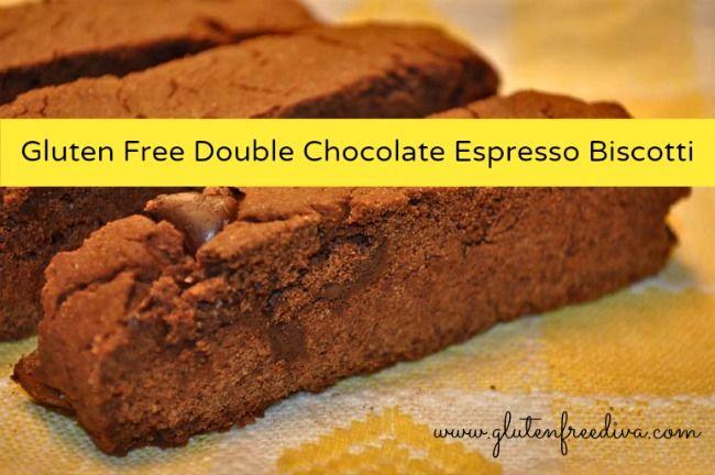 Gluten Free Double Chocolate Espresso Biscotti
