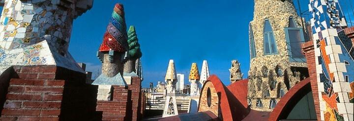 Palau Guell, Barcelona, Spain.  Barcelona  Pinterest