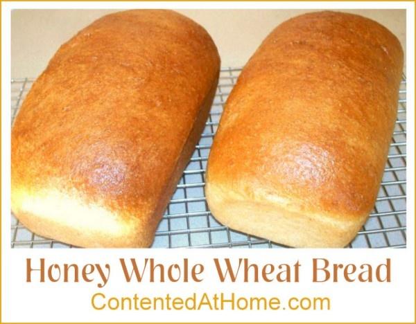 Honey Whole Wheat Bread | Recipe