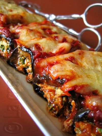 Eggplant cannelloni | Recipes for daily meals | Pinterest