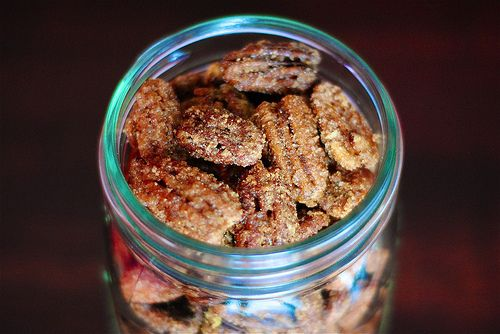 sugar and spice candied nuts | Nuts | Pinterest