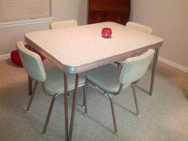 webster table and chairs craigslist retro furniture pinterest. Black Bedroom Furniture Sets. Home Design Ideas