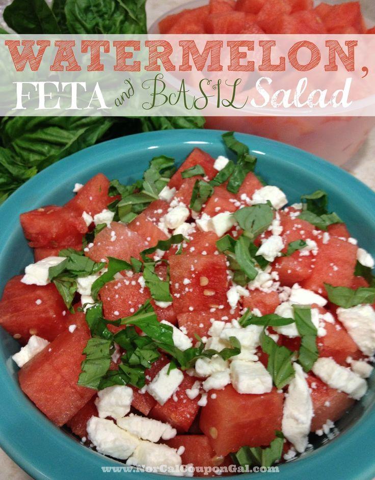 Save Mart #FreshFinds Watermelon, Feta & Basil Salad #Cbias #Shop