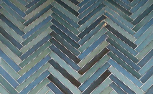 Tileworks 1x6 Floor Tile In Herringbone Pattern Love The Colors