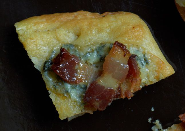 Blue Cheese bacon focaccia from Bon Appetite