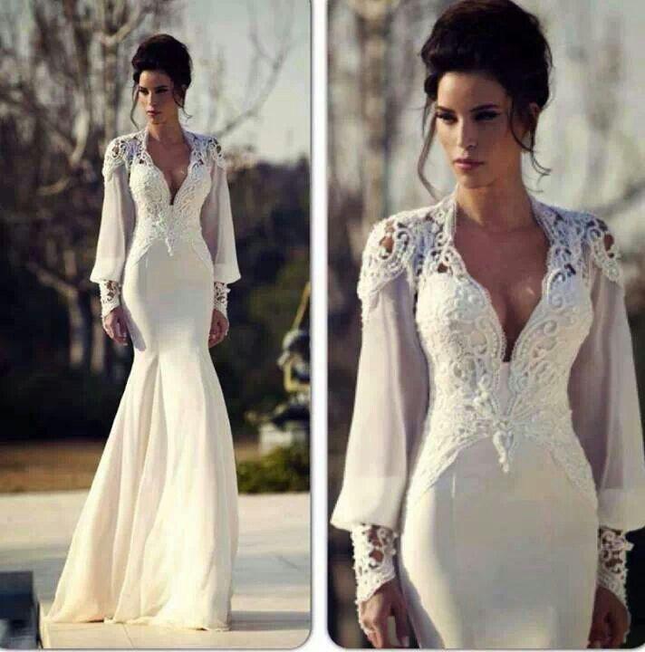Elegantly sexy sexy wedding dresses pinterest for Pinterest dresses for wedding