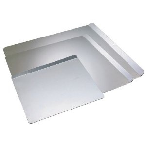 Airbake Ultra by T-fal 08620PA T492AWA2 2-Piece Insulated Large Cookie Sheet Dishwasher Safe Bakeware Set with Recipe Booklet, Silver