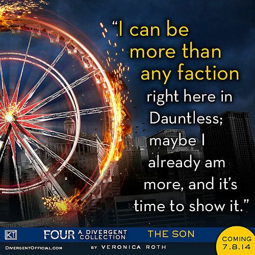 Awesome Four quote from new Divergent book