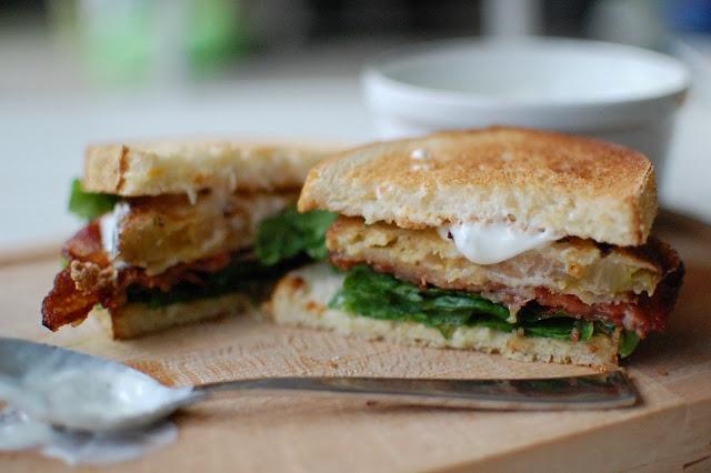 Fried Green Tomato BLT! | Between the Buns | Pinterest