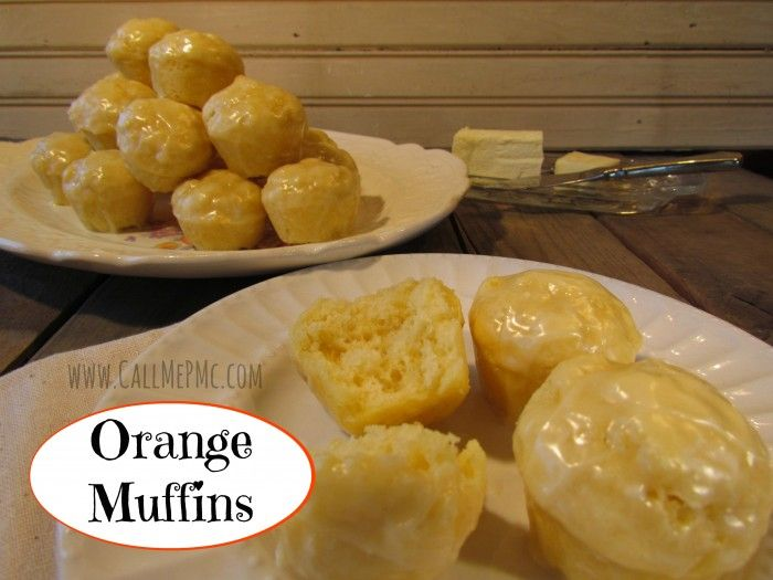Orange Muffins | Recipe