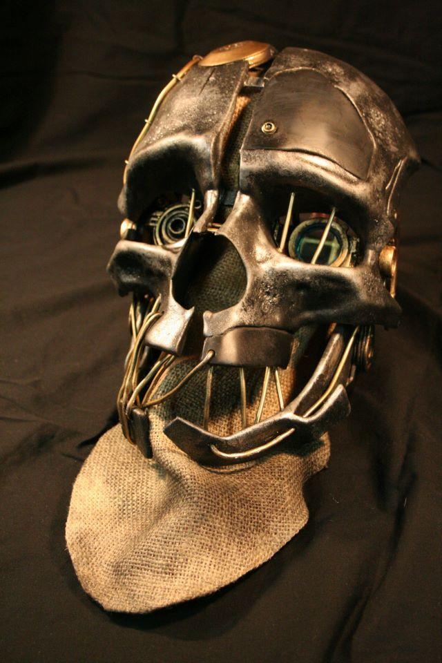 Стальная маска своими руками