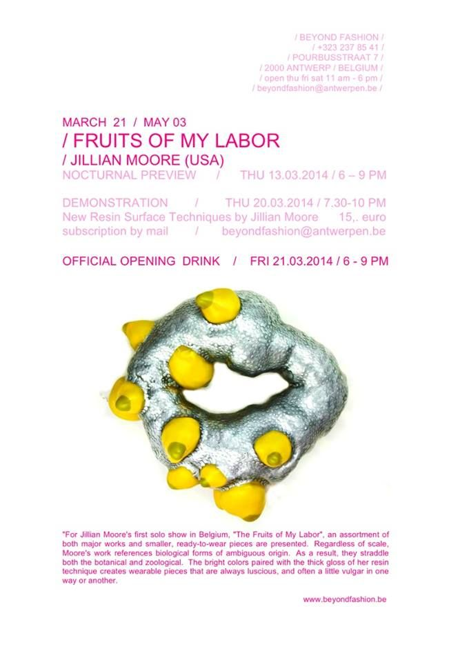 Jillian Moore Makes Things/ Fruits of My Labor
