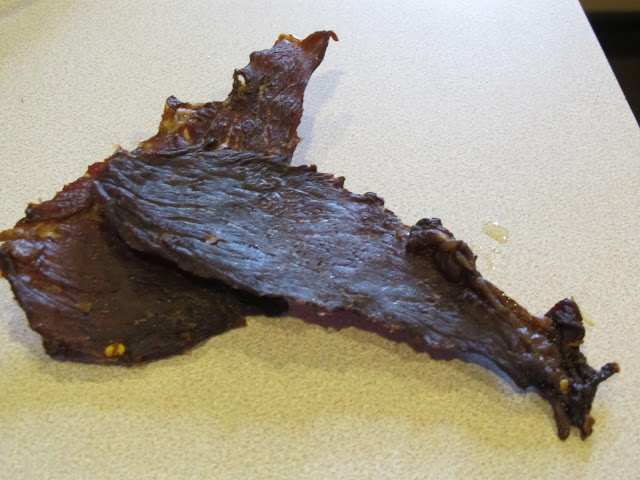 Ginger Tamari beef jerky | Jerkey-Mainia and dehydrating madness. | P ...