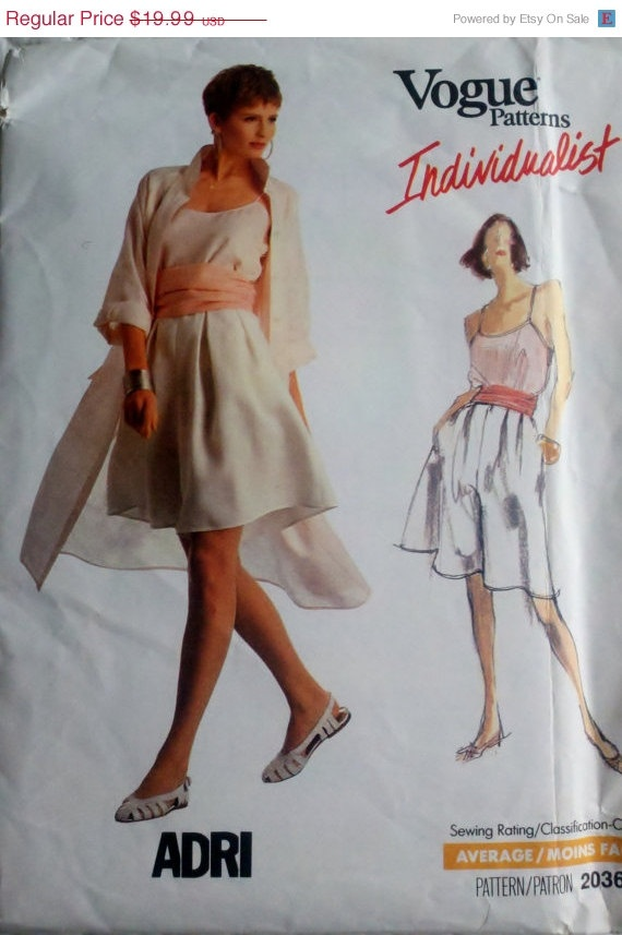 25 OFF Vintage Sewing Pattern Womens Full Coat by Sutlerssundries, $14