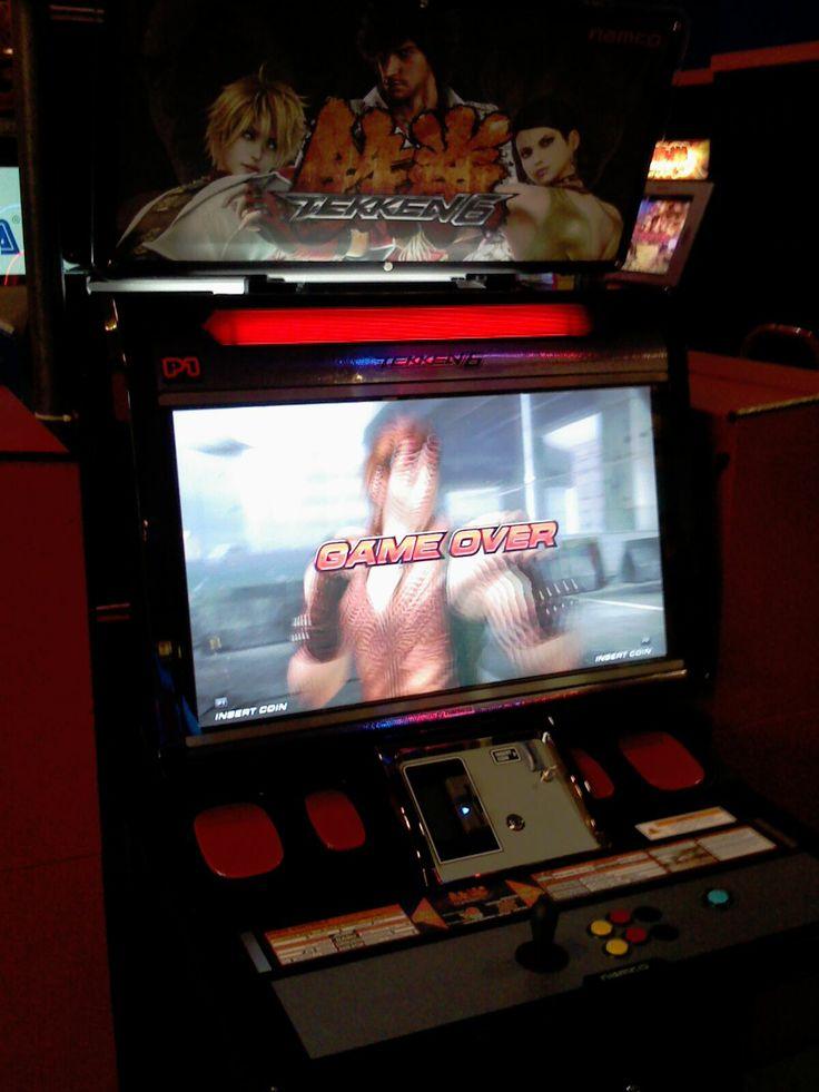 Tekken 6 HD Arcade Machine   Arcade Machines   Pinterest