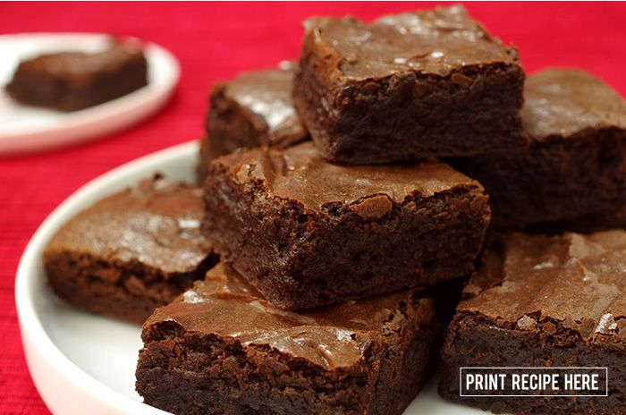Best Cocoa Brownies | Recipes & Food | Pinterest