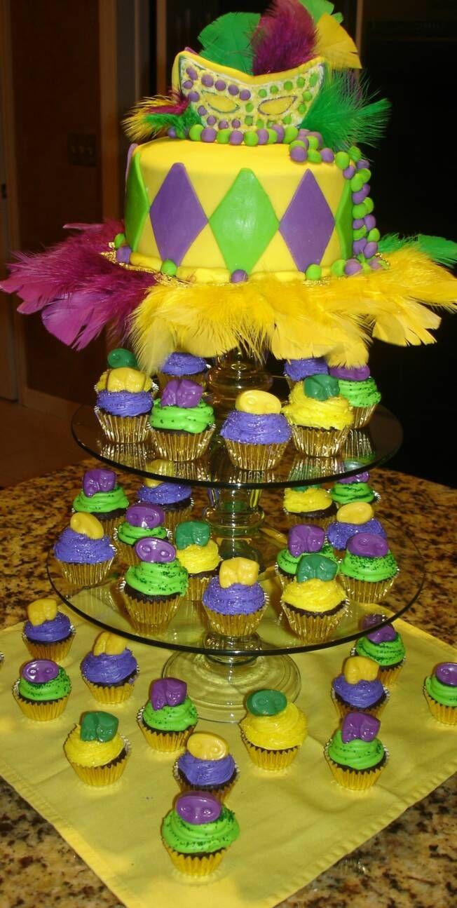 ... - King Cake & King Cake Cupcakes | 915 Monmouth Mardi Gras Ma