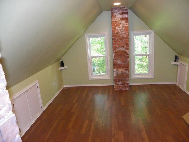ideas for finished attics - Finished attic space For the Home