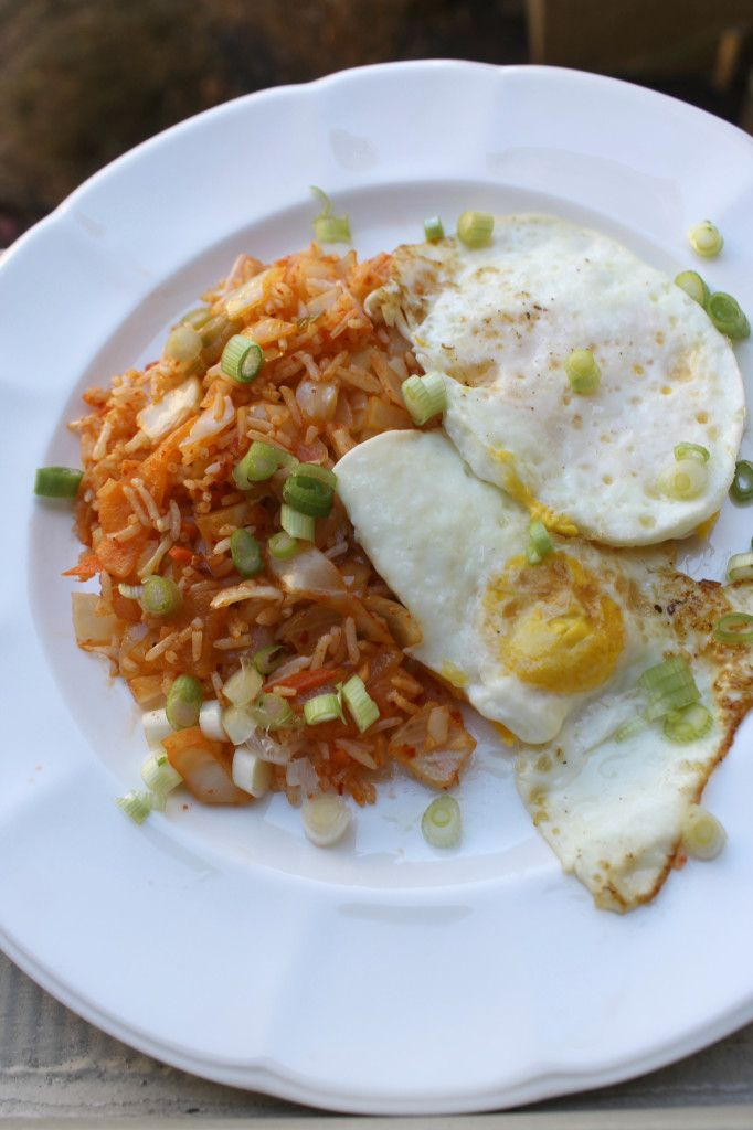 kimchi fried rice | Get in my belly | Pinterest